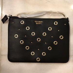 Victoria's Secret Leather Chain Crossbody Purse